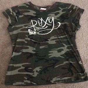 Roxy Camo T-shirt